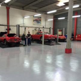 Revêtement de sol pour garage et industrie