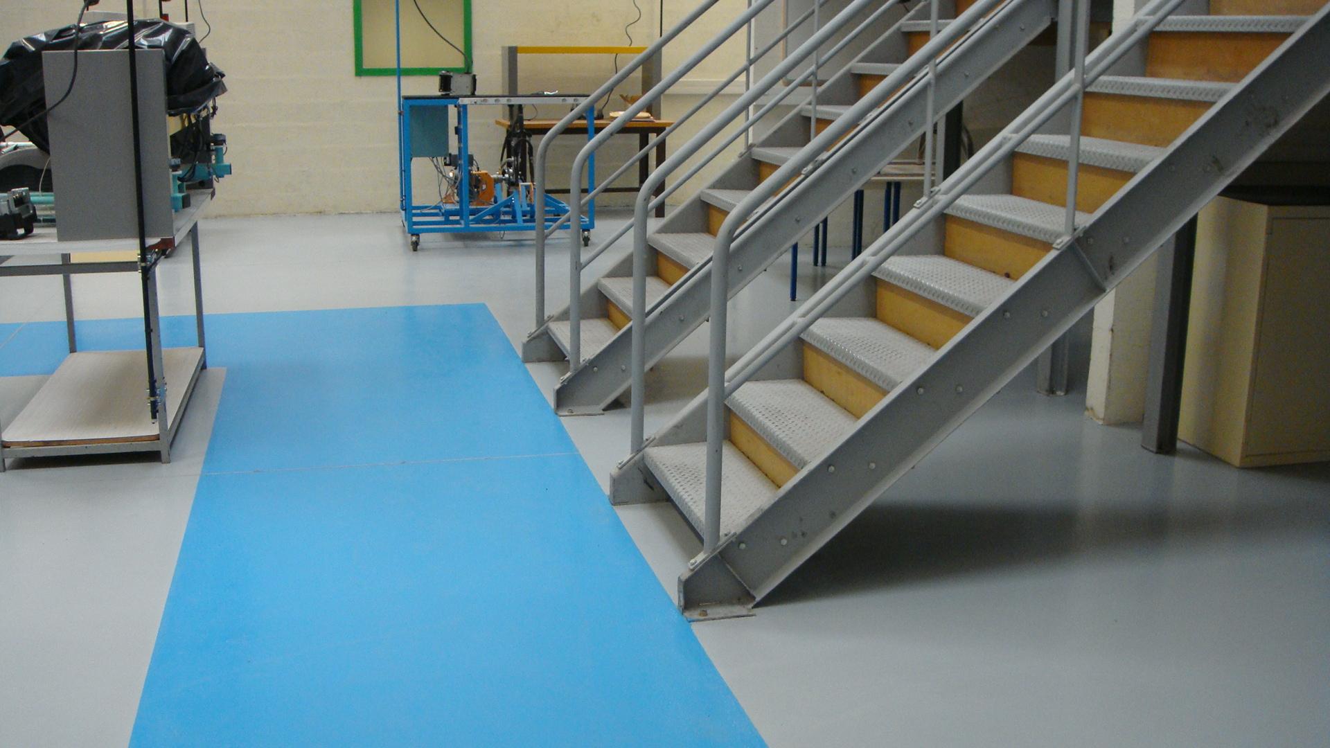Revetement De Sol Pour Garage revêtement de sol pour garage et industrie, semi lisse, en